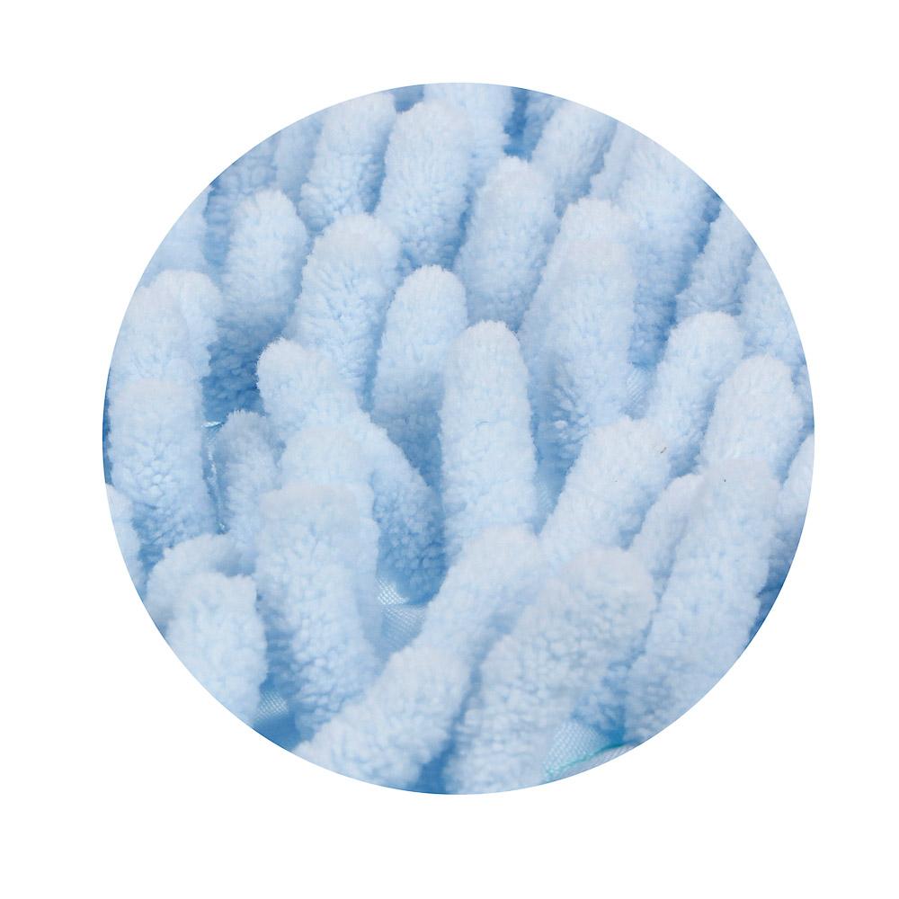 VETTA Насадка для швабры, основа полиэстер, букли микрофибра, эконом, 40x10см, вес 70 г.