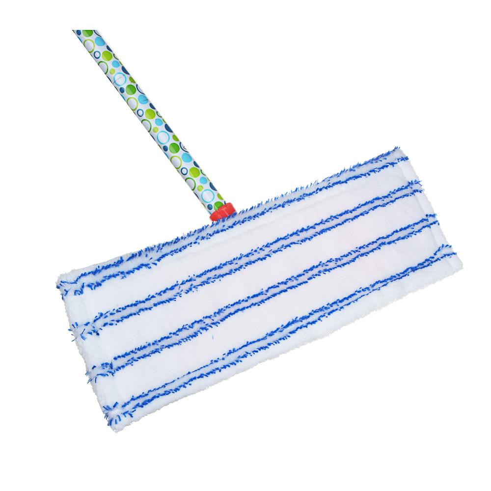 VETTA Швабра с насадкой из микрофибры, черенок окр.Металл 120см, с рисунком, арт. NP-2013