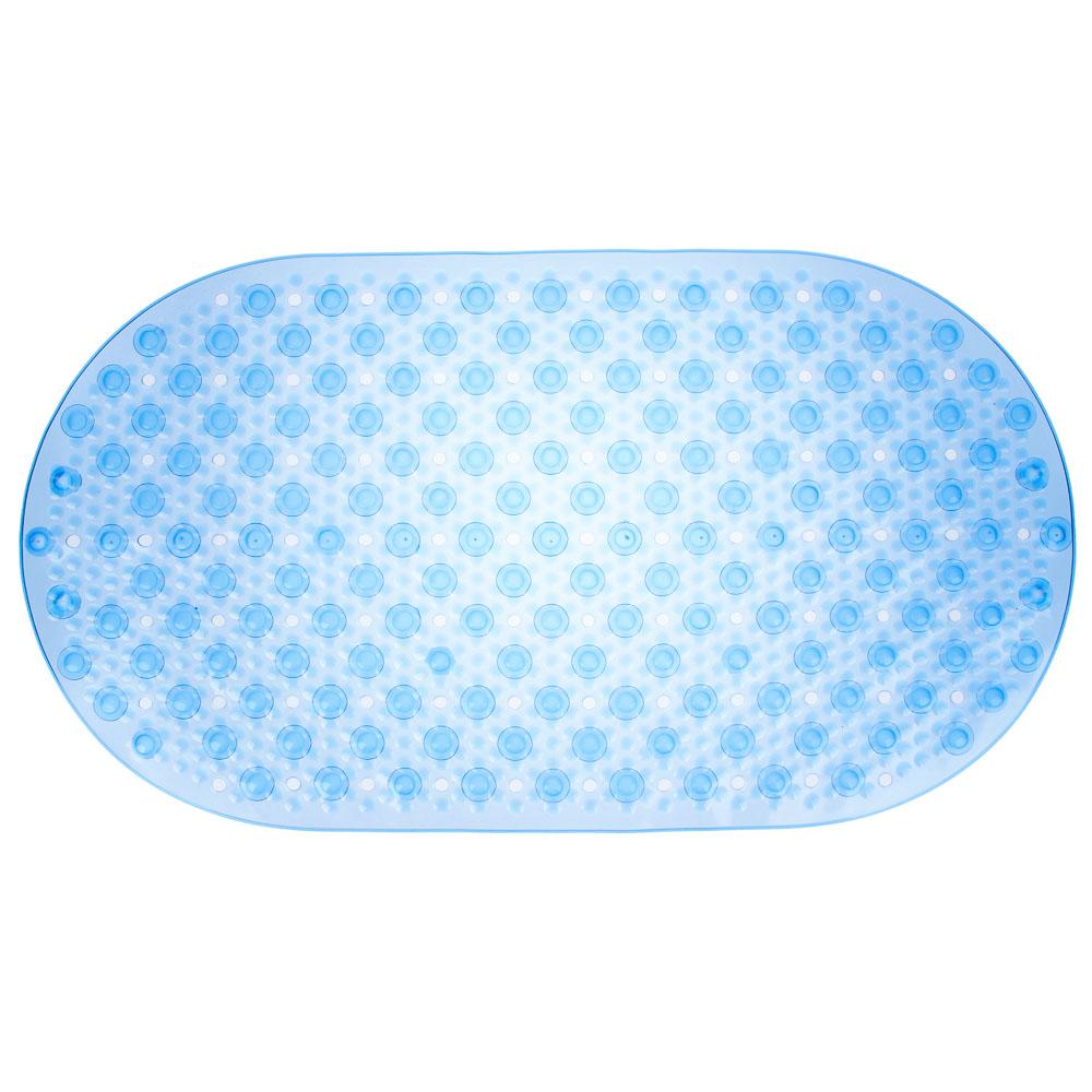 """Коврик для ванны противоскользящий, ПВХ, 67x37см, 4 цвета, VETTA """"Сфера"""""""