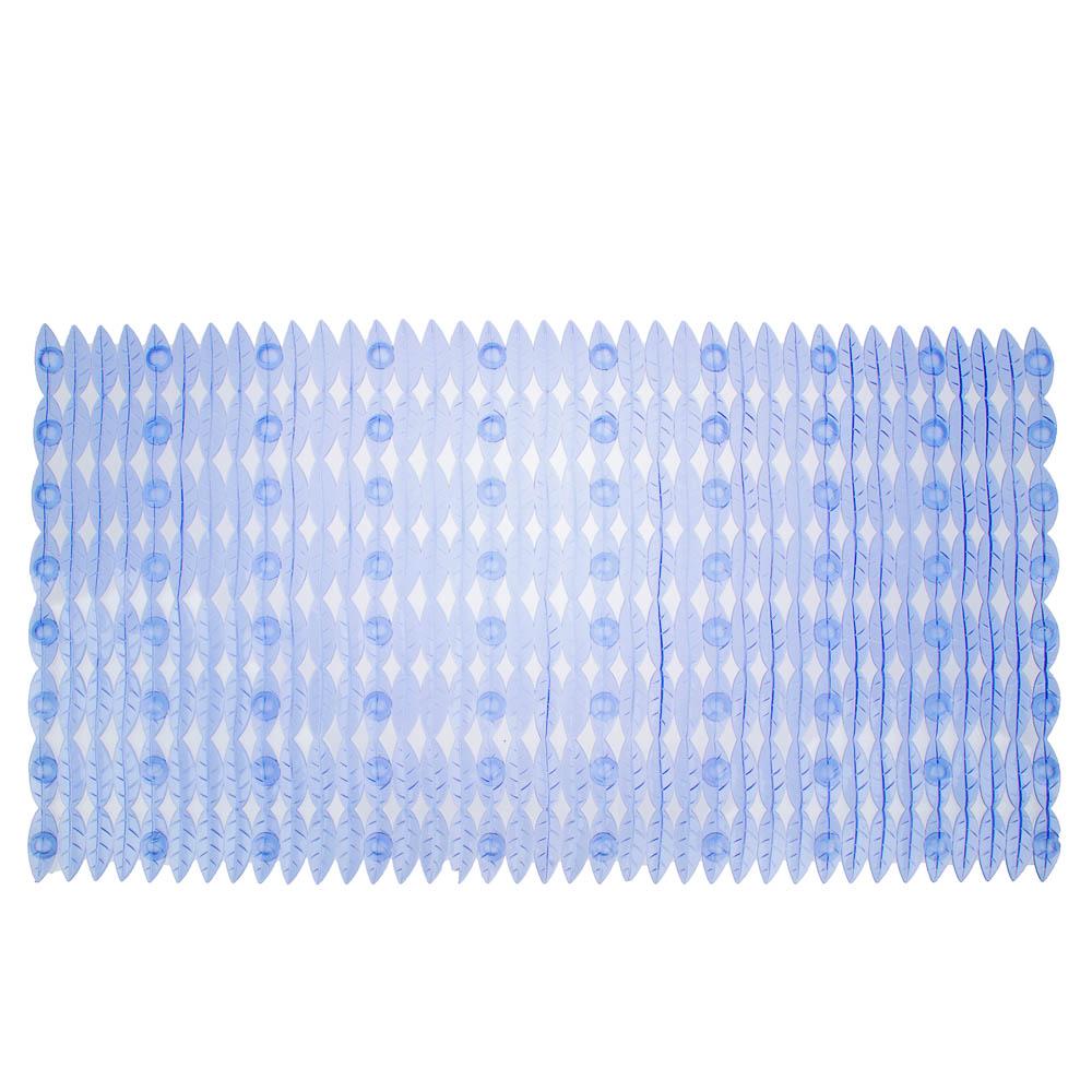 """Коврик для ванны противоскользящий, ПВХ, 66x36см, 4 цвета, VETTA """"Цветочная поляна"""""""