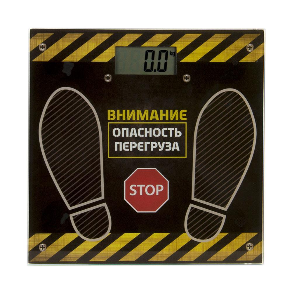 Весы напольные электрон., ЖК-дисплей, макс. нагр.до 180кг, 28х28х0,5см., VS-047, GC Design
