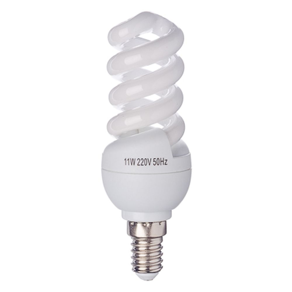 FORZA Лампа энергосберегающая E14 11W 2700K полн.спираль