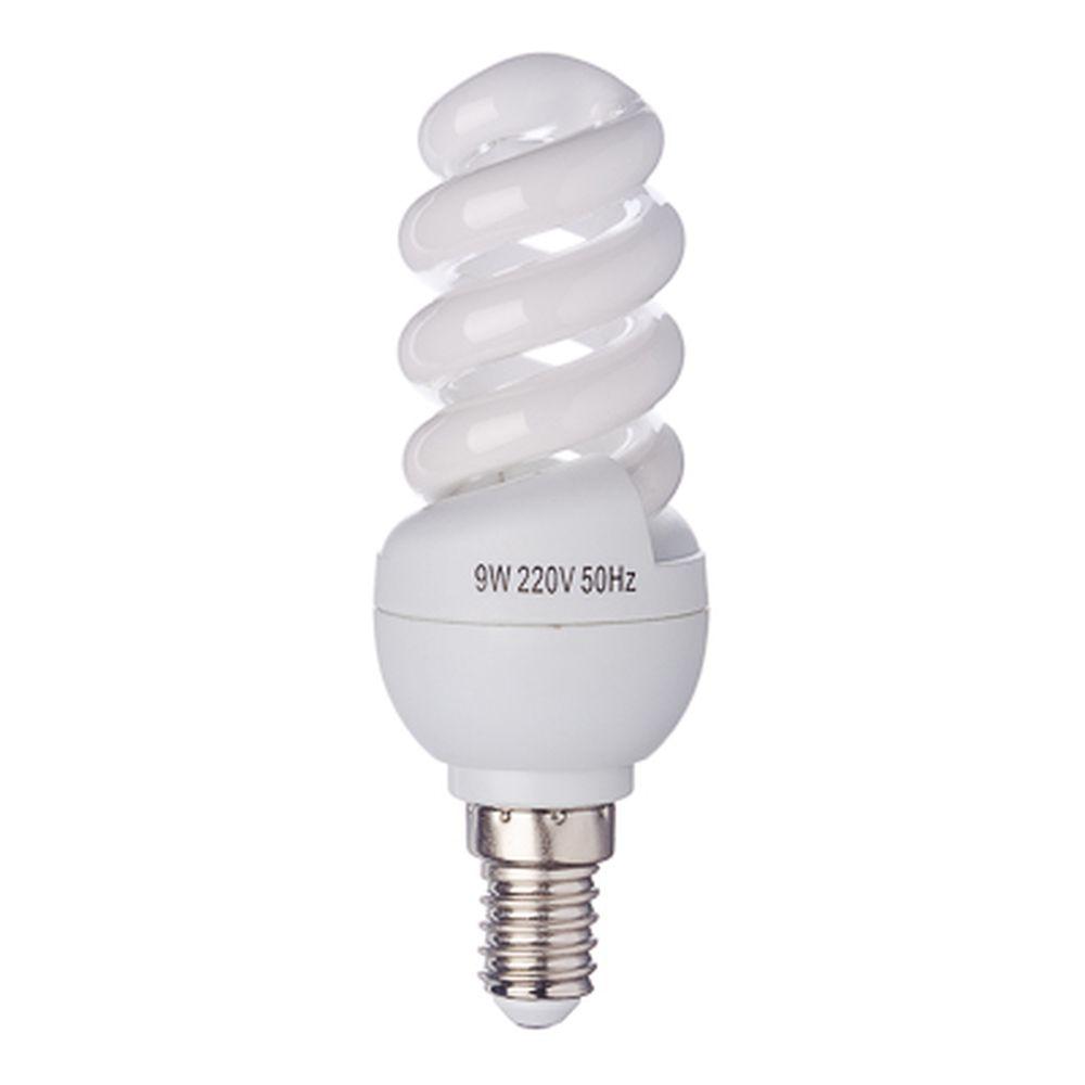 FORZA Лампа энергосберегающая E14 9W 2700K полн.спираль