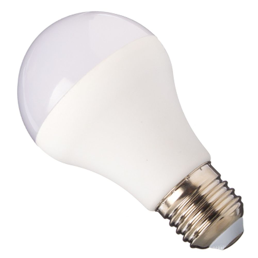 ECOLA Лампа светодиодная ЛОН A60 E27 12W 4000 106x60 пласт./алюм. Premium D7KV12ELC
