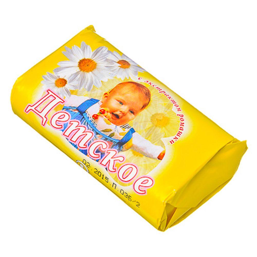 Мыло туалетное Детское, б/у 90гр арт.960