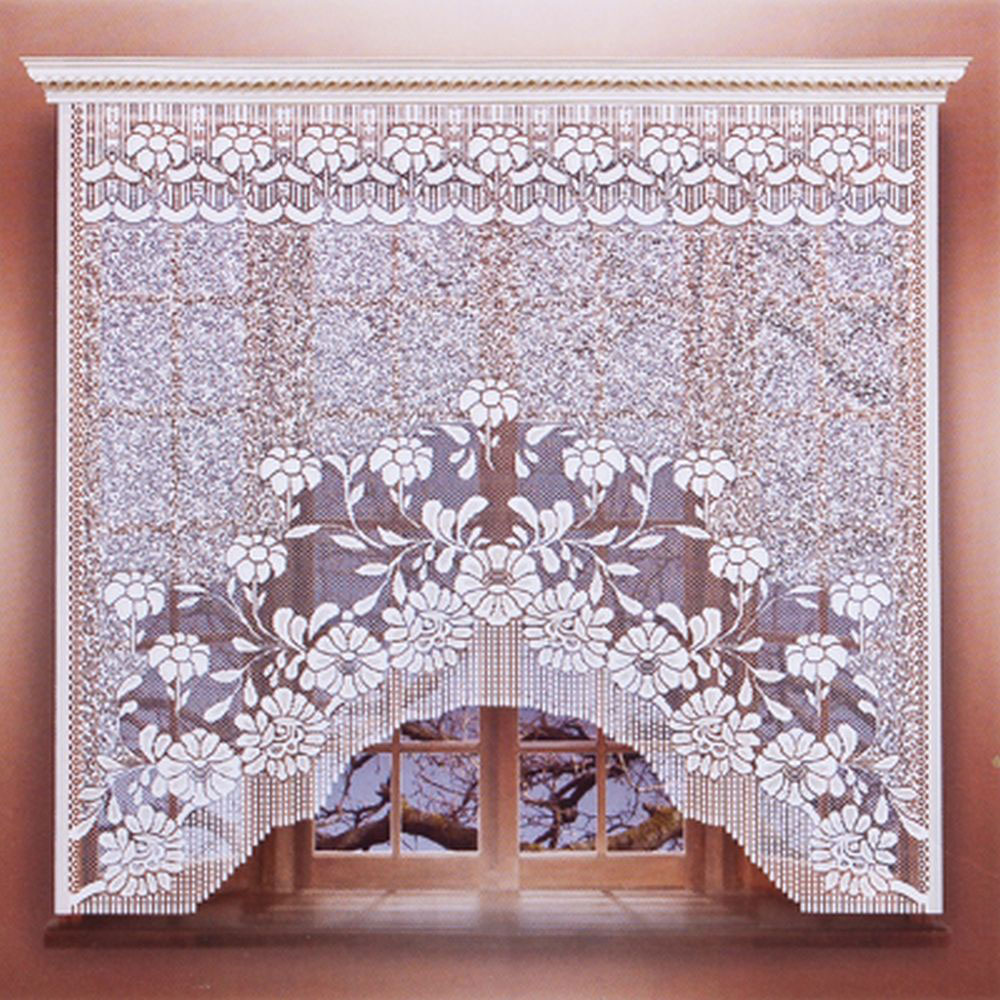 Занавеска для кухни 1,6х1,7м, цвет белый, М199