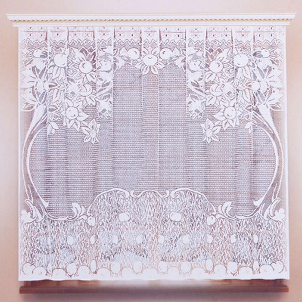 Занавеска для кухни 1,6х1,7м, цвет белый, 05с6021 рис М102