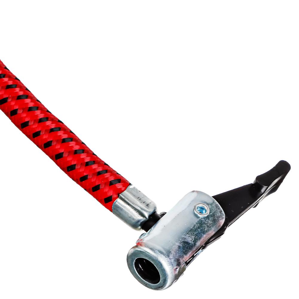 NEW GALAXY Насос ножной, манометр, 55*120мм Стандарт