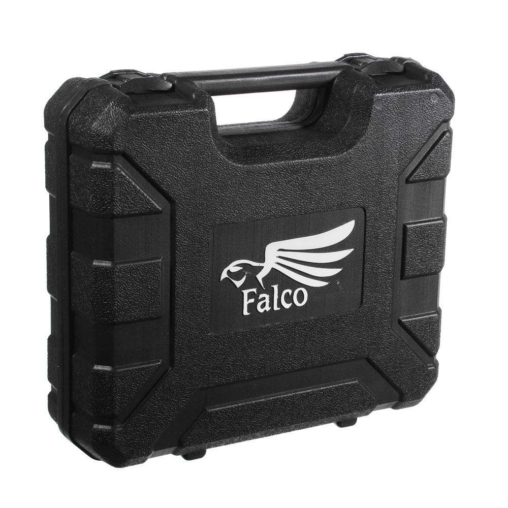 FALCO Фен технич. HG-2000-К, 2000 Вт, Реж.1: 300C°,250 л/мин/Реж 2: 500C°,500 л/мин,кейс+5 насадок