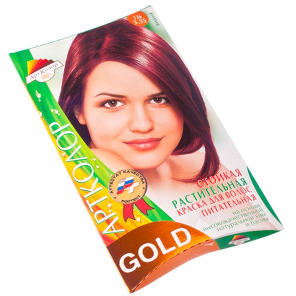 "Gold Краска для волос ""Вишня"", 25гр"