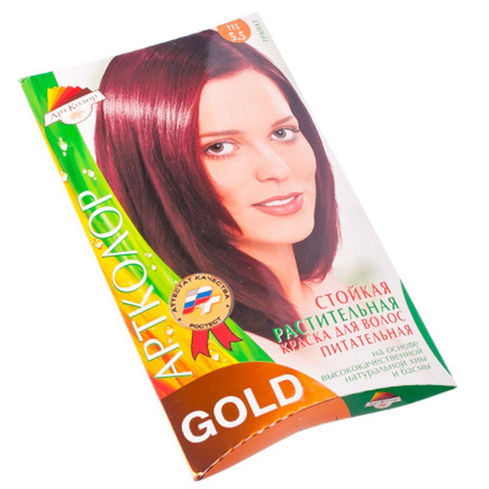 """Gold Краска для волос """"Гранат"""", 25гр"""