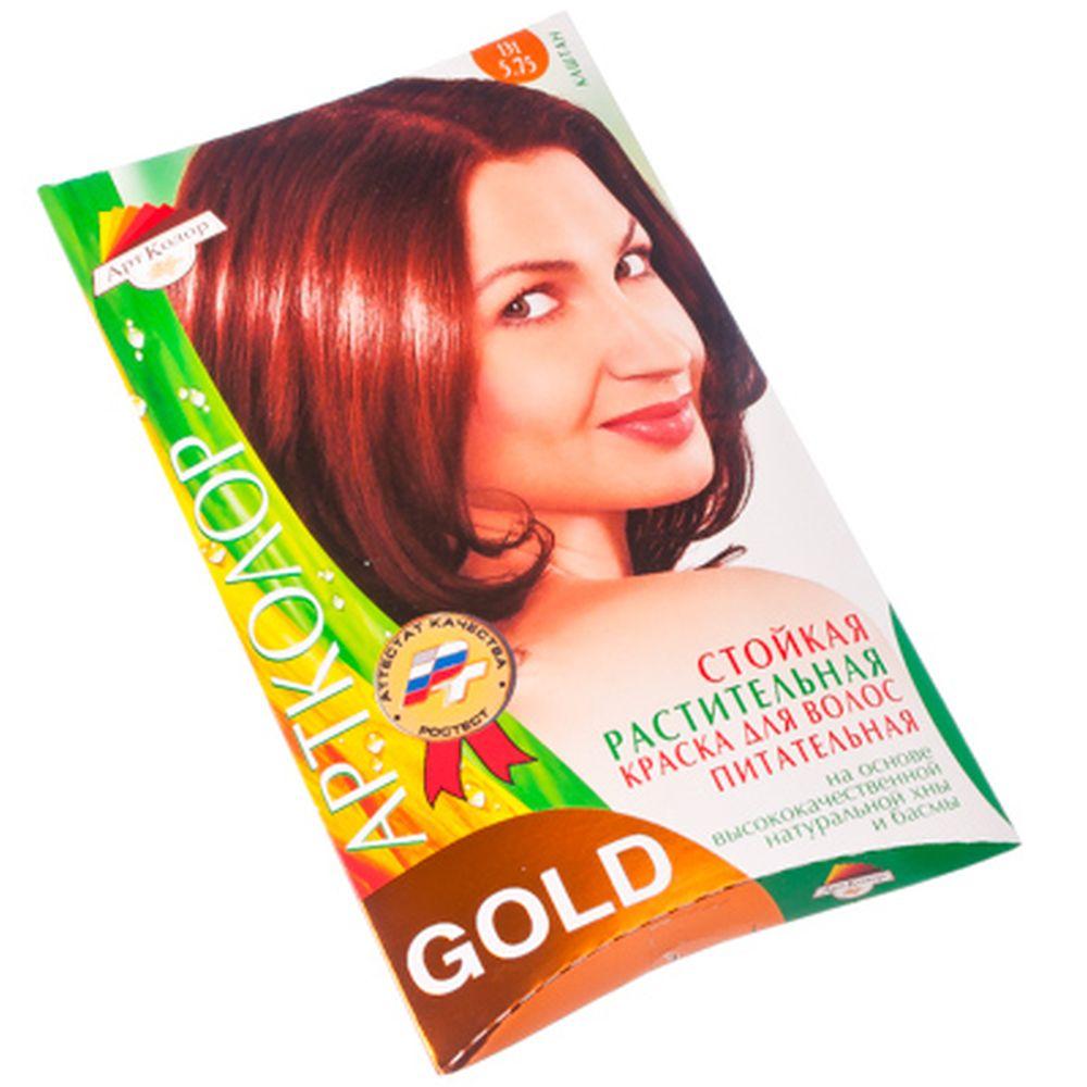 "Gold Краска для волос ""Каштан"", 25гр"