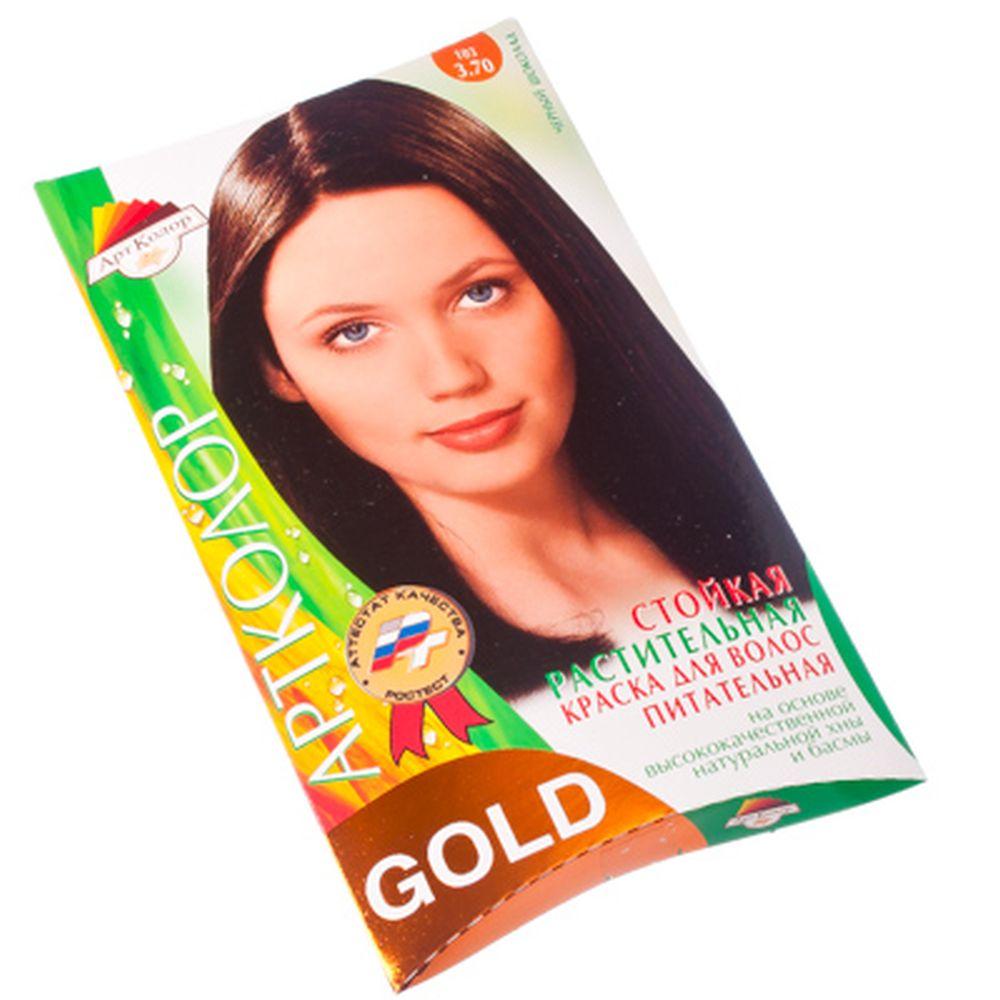 """Gold Краска для волос """"Черный шоколад"""", 25гр"""