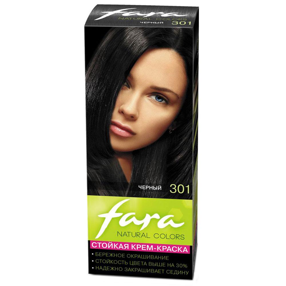 """FARA Natural Colors Краска для волос """"301 Черный"""", Арт.301131"""