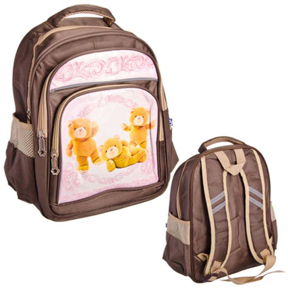 Плюшевый медведь Рюкзак для мальчиков, полиэстер, 35x29х14см