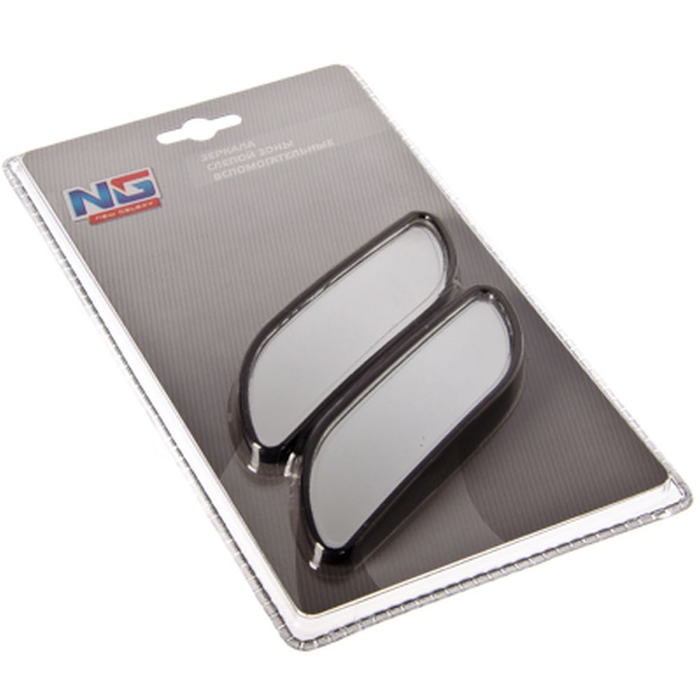 NEW GALAXY Зеркало вспомогательное слепой зоны, 134х32мм, крепл. клеевая основа, F