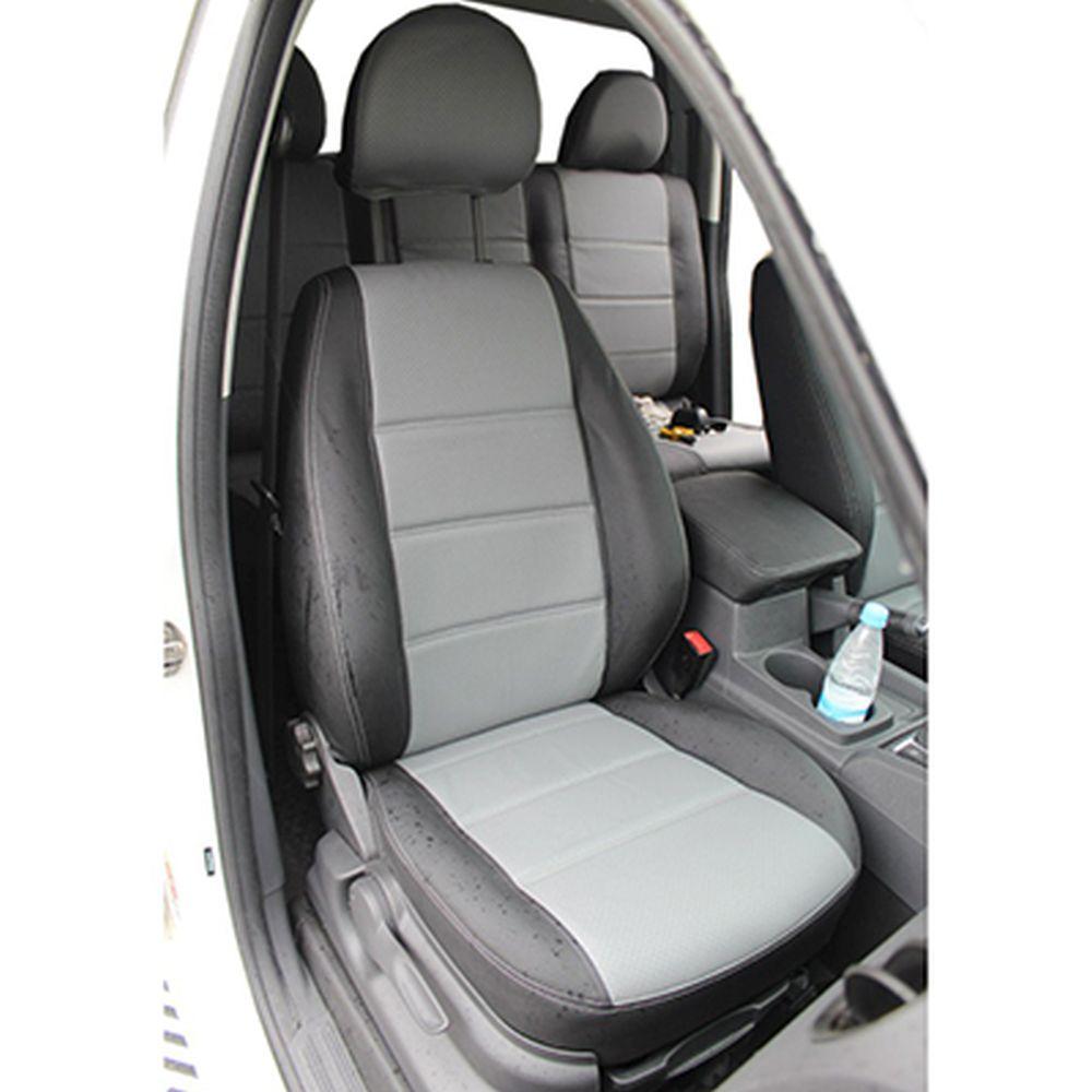 NEW GALAXY Чехлы автомобильные универ. 15 пр., экокожа с перфорацией, Airbag, «Натали»