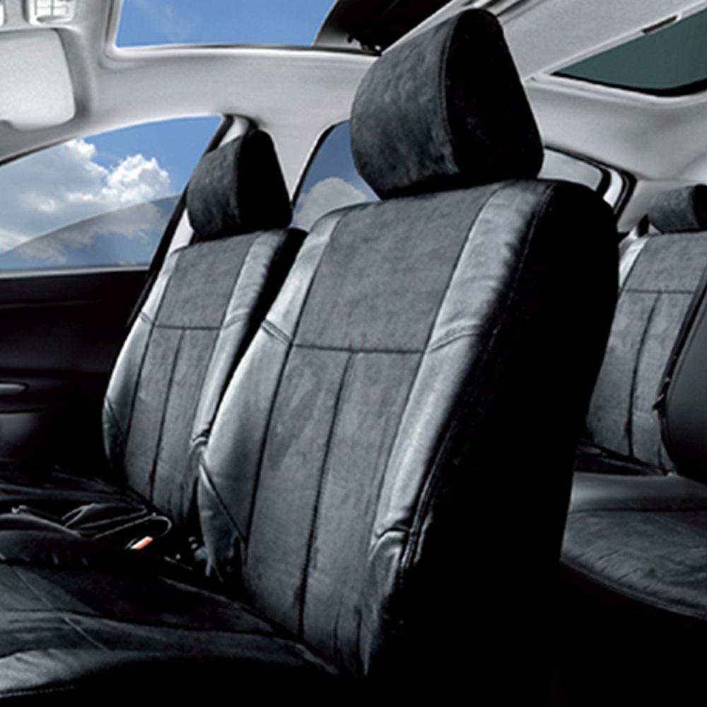 NEW GALAXY Чехлы автомобильные универ. 15 пр., экокожа и алькантара, Airbag, «Балатоми»