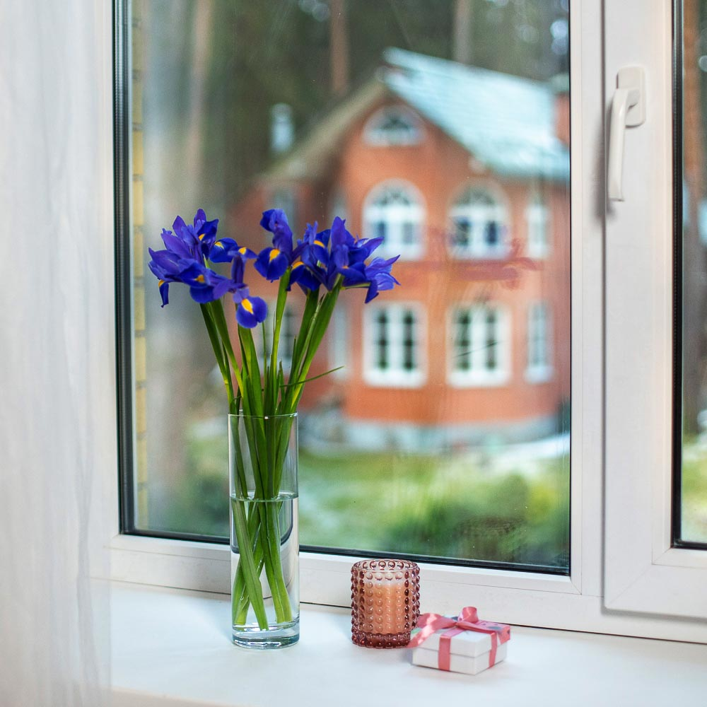 """Pasabahce ваза для цветов стеклянная h-26,5 см, """"flora"""""""