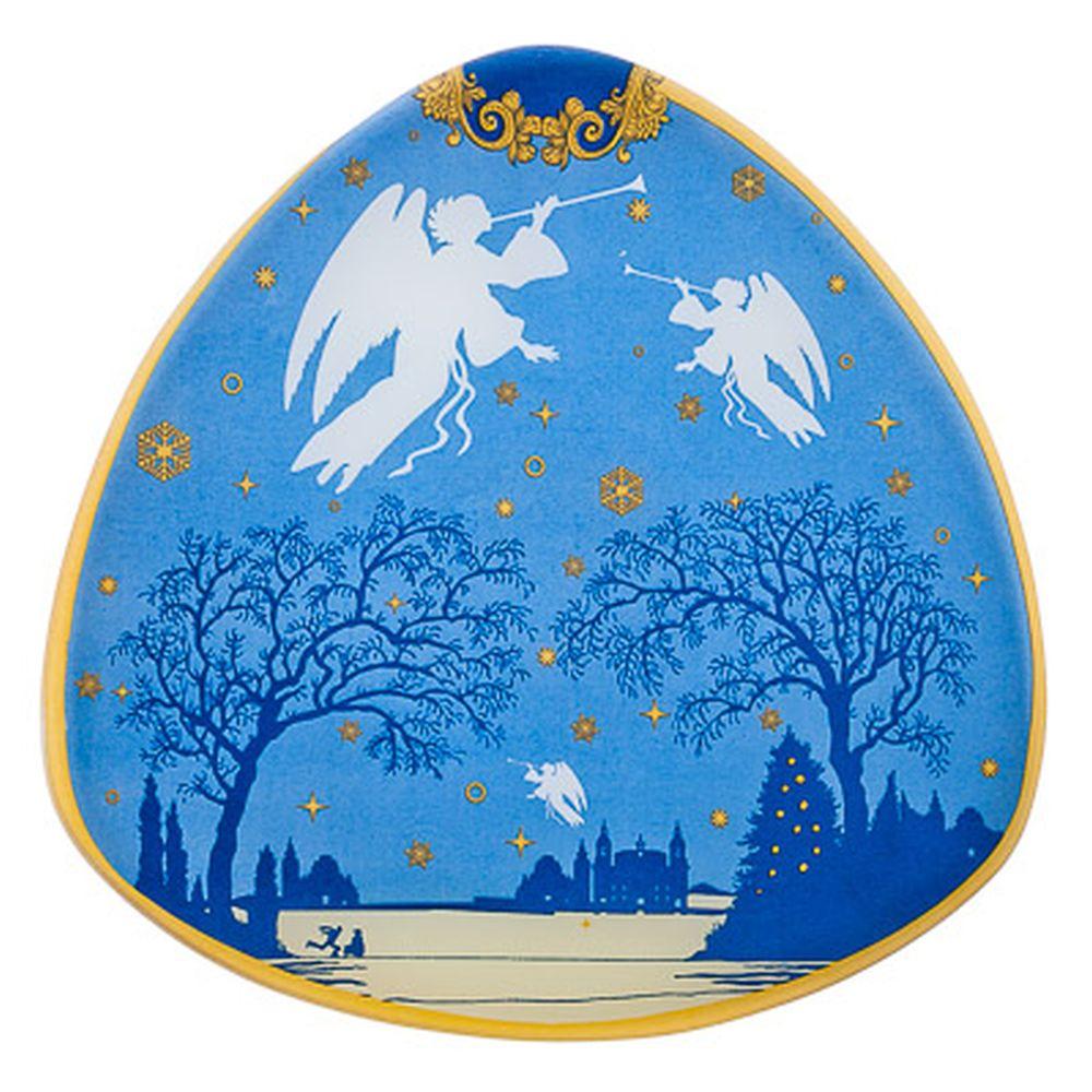 VETTA Рождество Блюдо треугольное стекло 25,4см, S330010 GC005