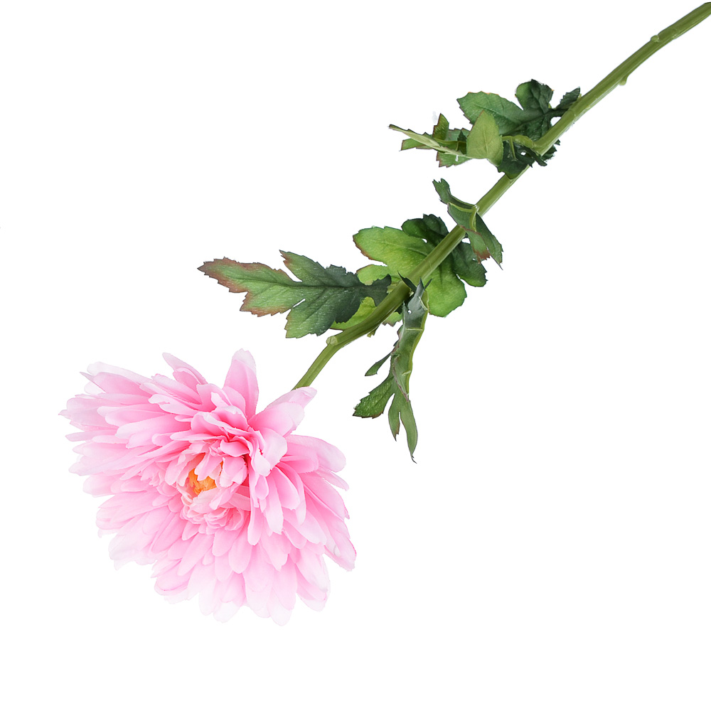 """Цветок искусственный """"Хризантема белая"""" 73см, пластик, полиэстер"""
