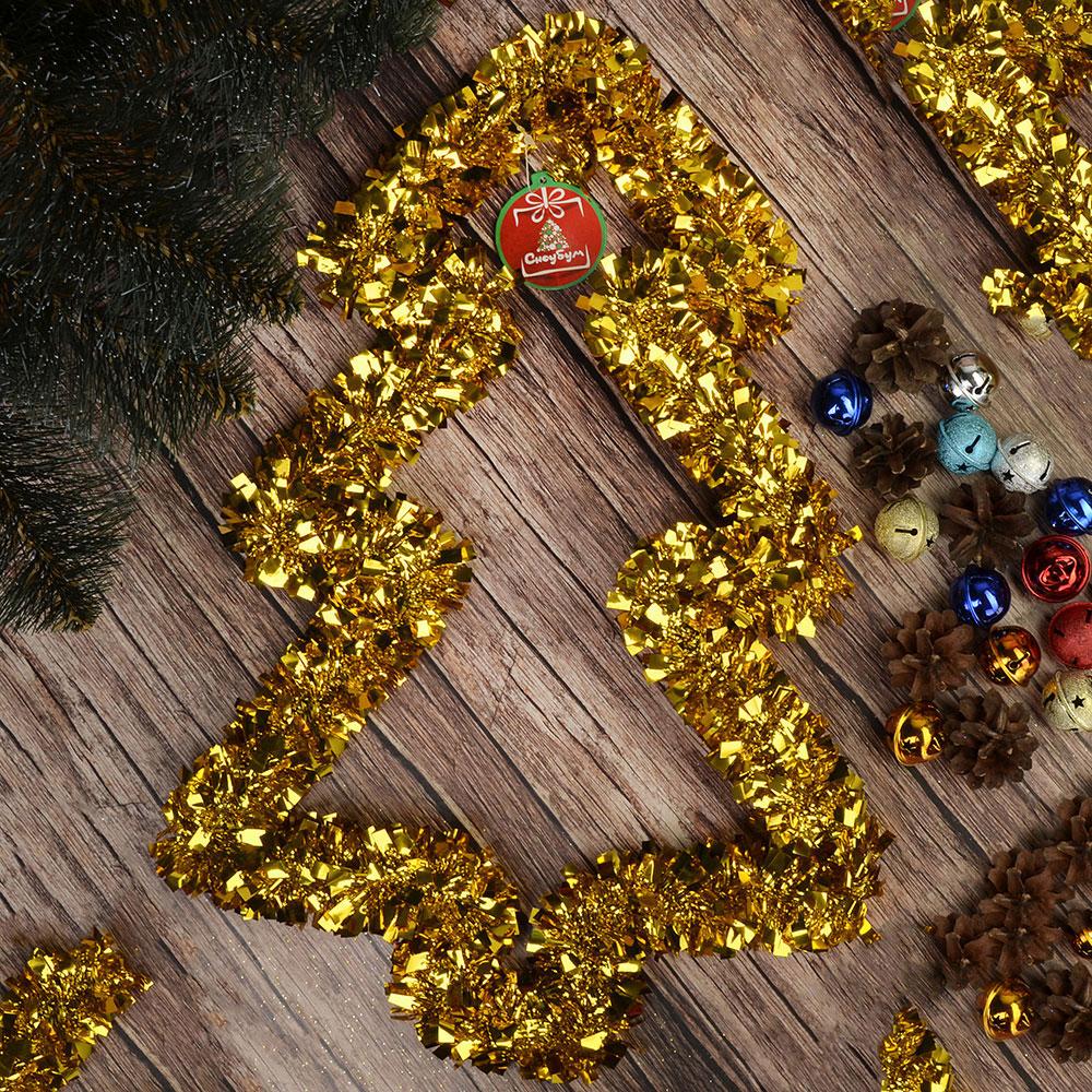 Украшение декоративное СНОУ БУМ 30х40см, ПВХ, металл, в виде елки, 4 цвета