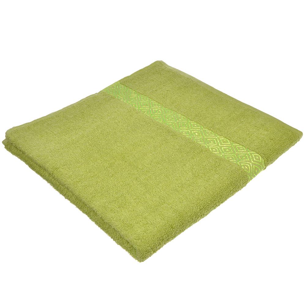 """Полотенце махровое, 100% хлопок, 70х140см, """"Соты"""", 4 цвета"""