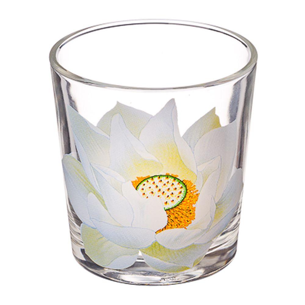 """ОСЗ Набор стаканов 6шт, 250мл, стекло, """"Кувшинка"""", 05с1249"""