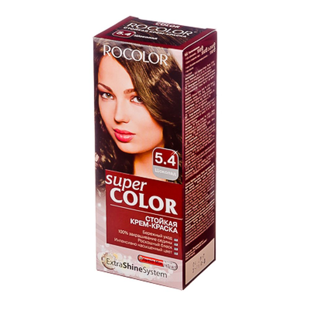 Роколор Краска для волос 5.4 шоколад, 50/50/15мл (р)