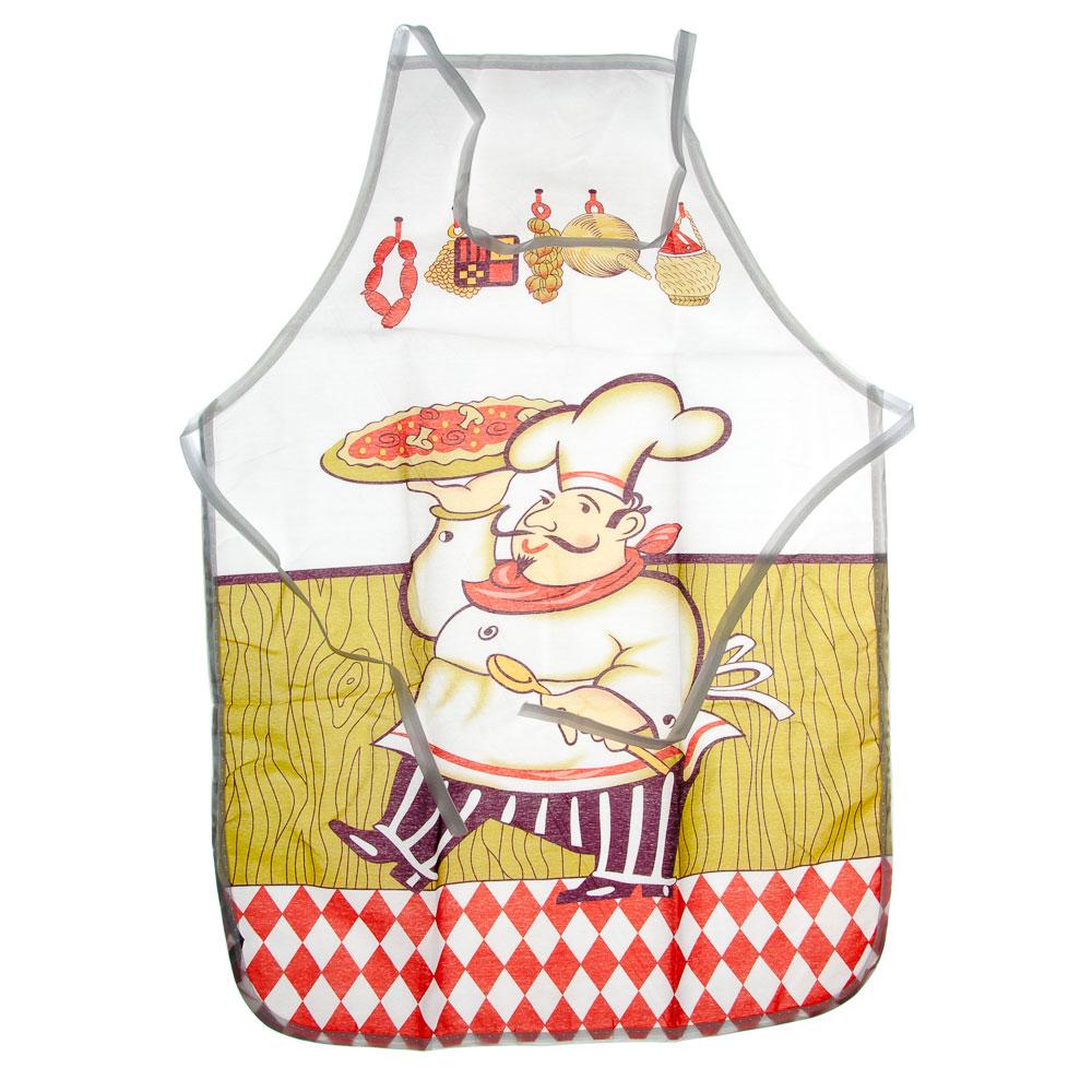 Набор кухонный: варежка 25х16см, прихватка 17х17см, фартук 50х70см
