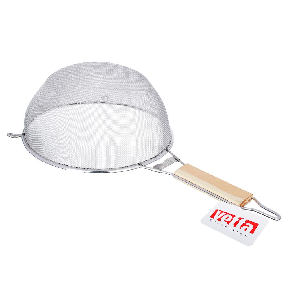 VETTA Ретро Сито с ободом и ручкой 24см, нерж.сталь, SY-021-24