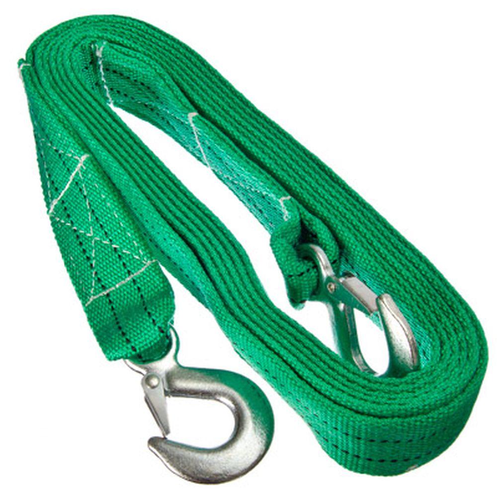 NEW GALAXY Трос буксировочный ГОСТ с крюками, 5т, в сумке, 5м