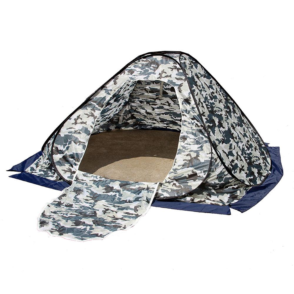 Палатка для зимней рыбалки 2x2м, Окфорд, полиэстер, быстросборная, без дна
