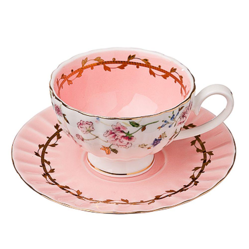 FARFALLE Бонасье Набор чайный 2 пр., 200мл, костяной фарфор, подар. упак