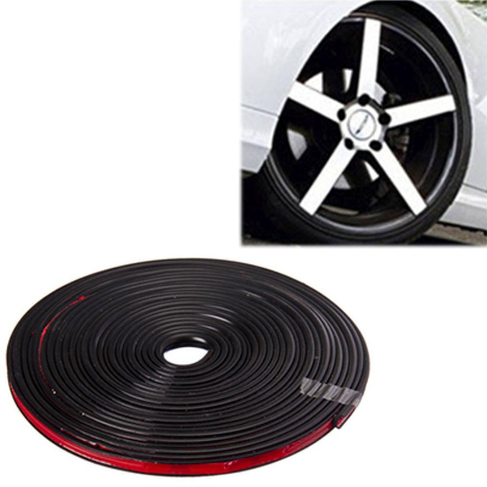 NEW GALAXY Лента защитная для автомобильных дисков, моток 7м, черная
