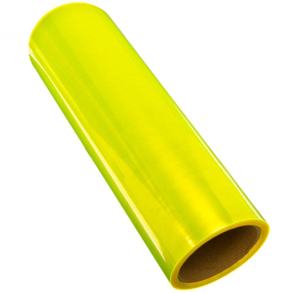 NEW GALAXY Пленка защитная для фар и фонарей (броня), глянцевая 30см x 10м, желтая