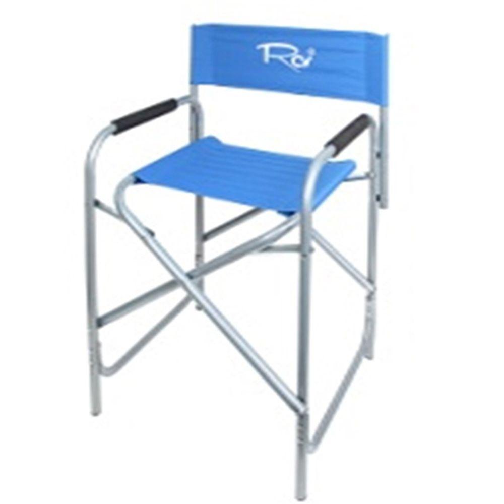 Кресло (стул) RCV с подлокотниками туристическое складное 47x57x80см Ф21см металл\полиэстер 865-202