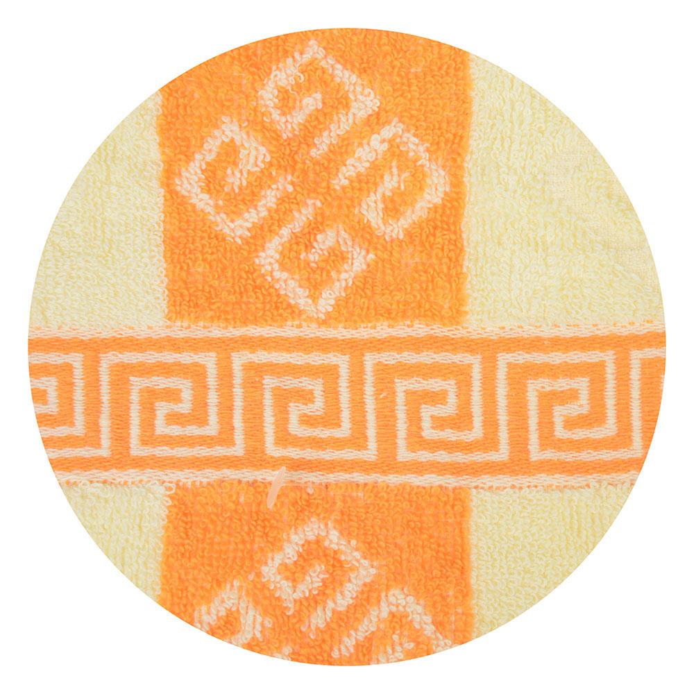 "Полотенце махровое, 100% хлопок, 30х75см, жаккард, ""Афины"", 3 цвета, арт.ALV-09"