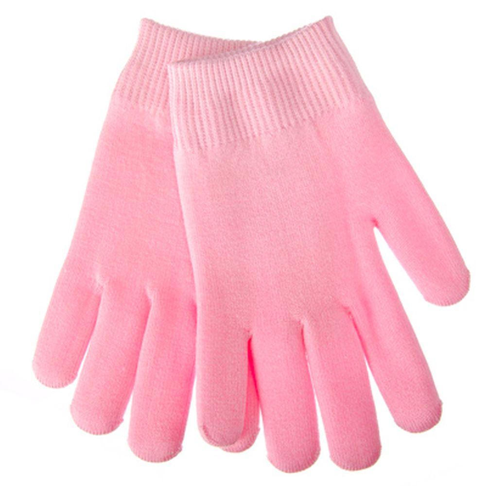 SPA-перчатки гелевые косметические увлажняющие, розовые