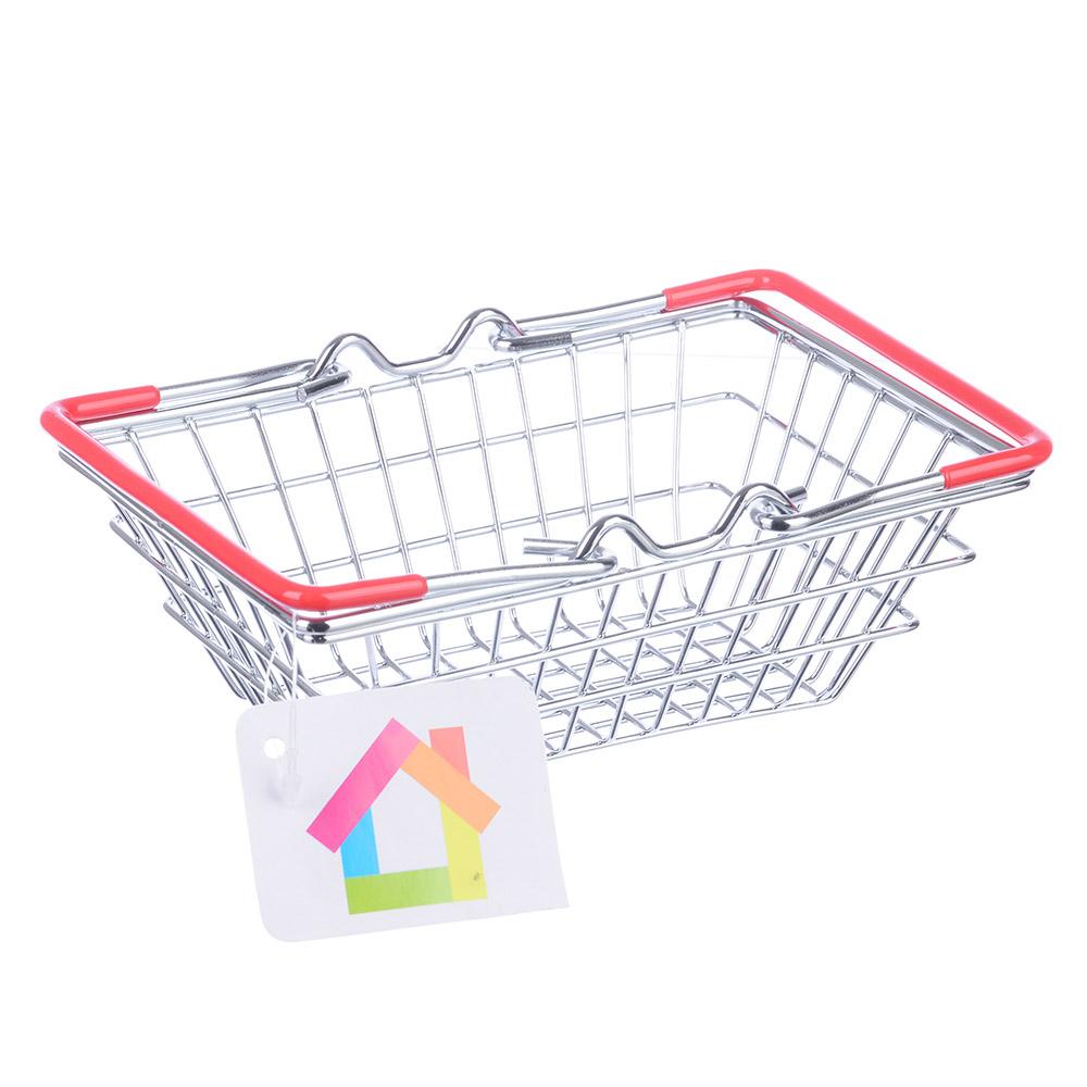 "Корзина для мелочей, металл, 14,5х10х7см, ""Супермаркет"""