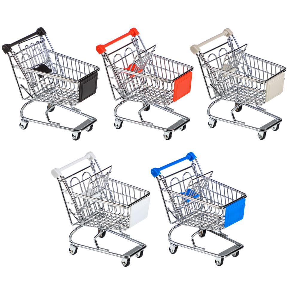 "Тележка для мелочей, металл, 14х13,5х9см, ""Супермаркет"""