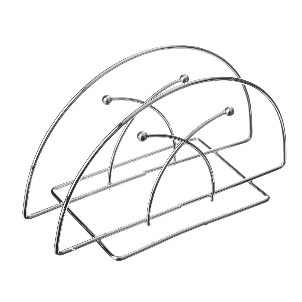 Салфетница металлическая VETTA, 13х7х6 см, 3 дизайна