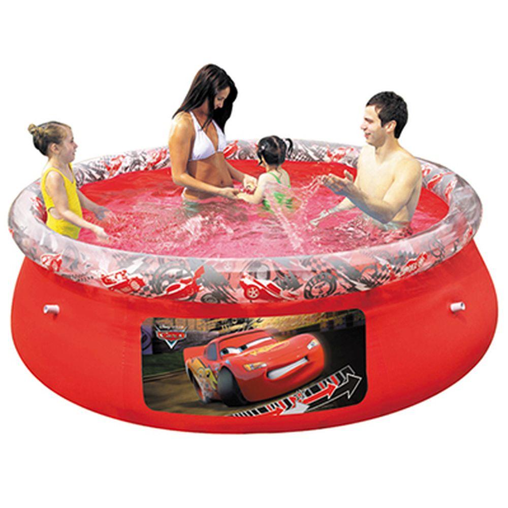 BESTWAY Бассейн надувной Fast Set 198x51см Disney Тачки (91026)810-102