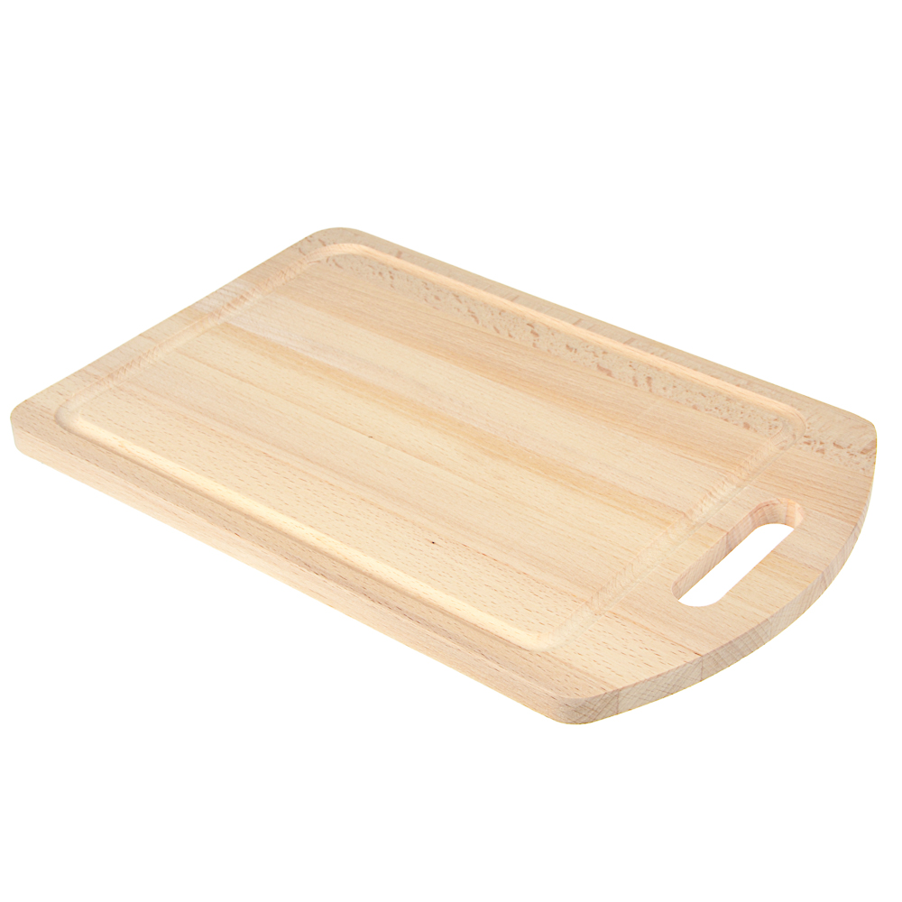 Доска разделочная деревянная, 30х20x1,2 см, бук