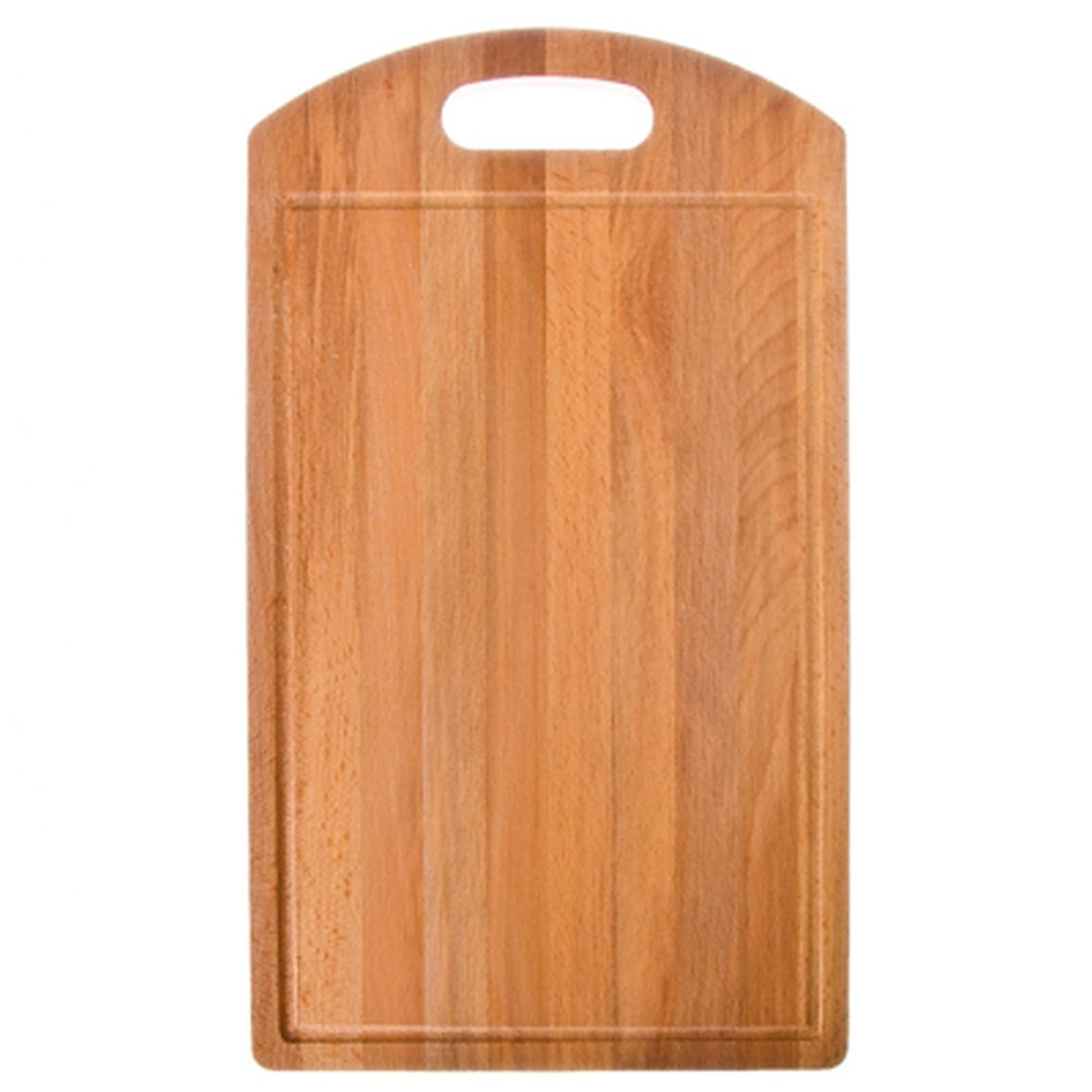 Доска разделочная деревянная, 40х23x1,2 см, бук