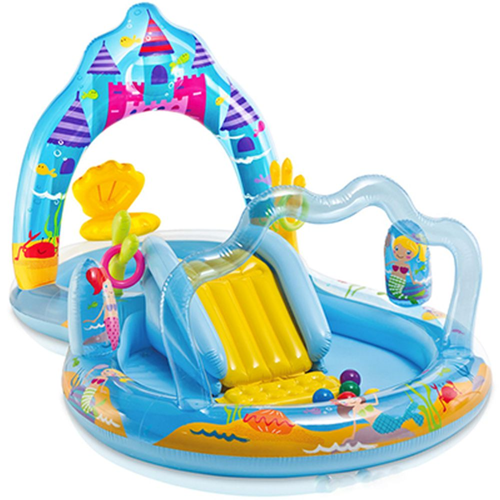 INTEX Игровой центр MERMAID KINGDOM 279x160x140 (57139) арт.813-009