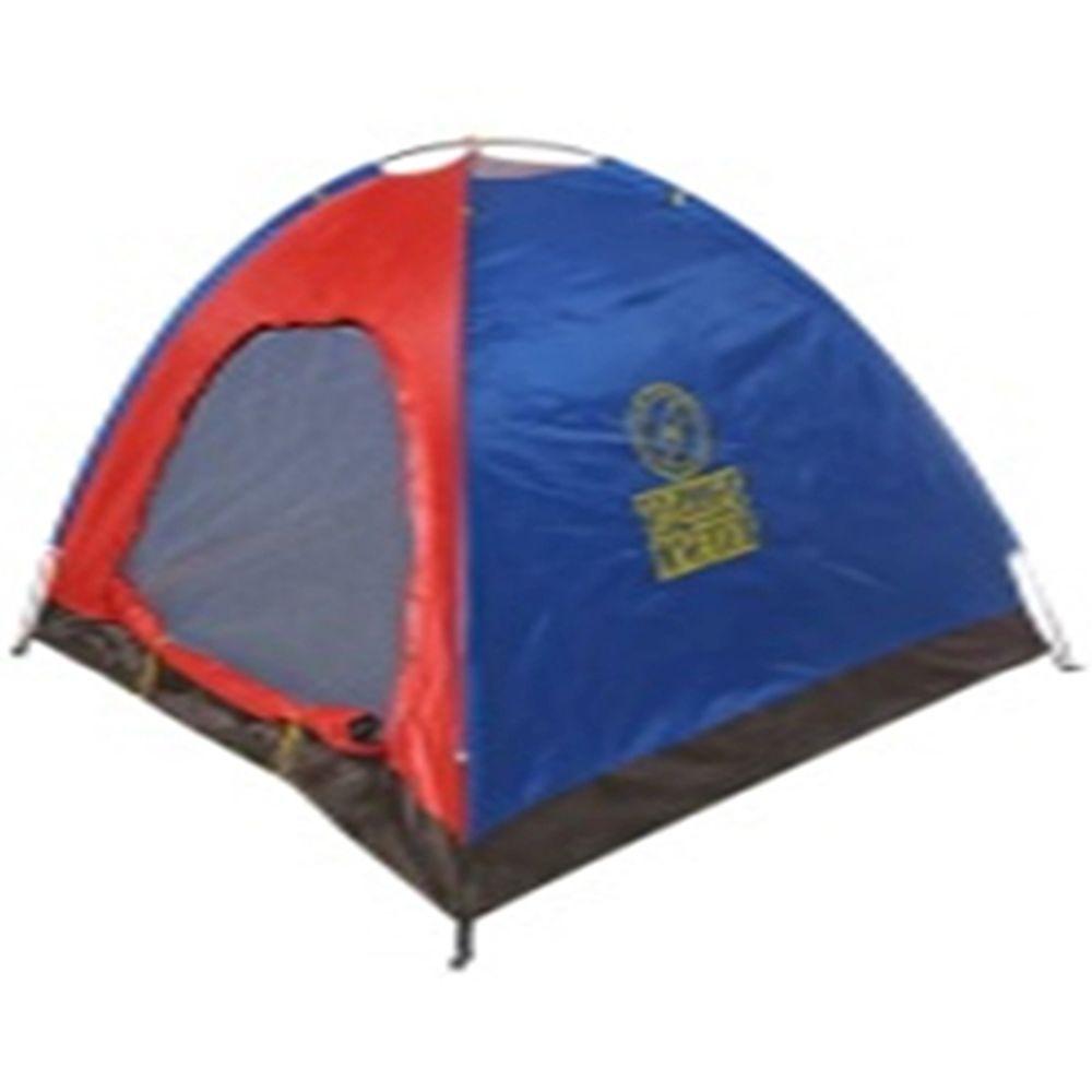 ТУРИСТ МАСТЕР Палатка туристическая 200х240х135см 4х-местная 1 слой TFZP-025 (к-с) арт.805-005