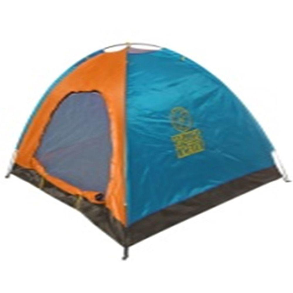 ТУРИСТ МАСТЕР Палатка туристическая 200х240х135см 4х-местная 1 слой TFZP-025 (о-г) арт.805-006