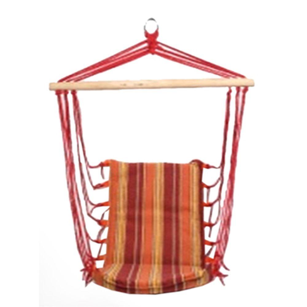 Гамак подвесной сидячий 96x48x43см, х\б, арт.835-056