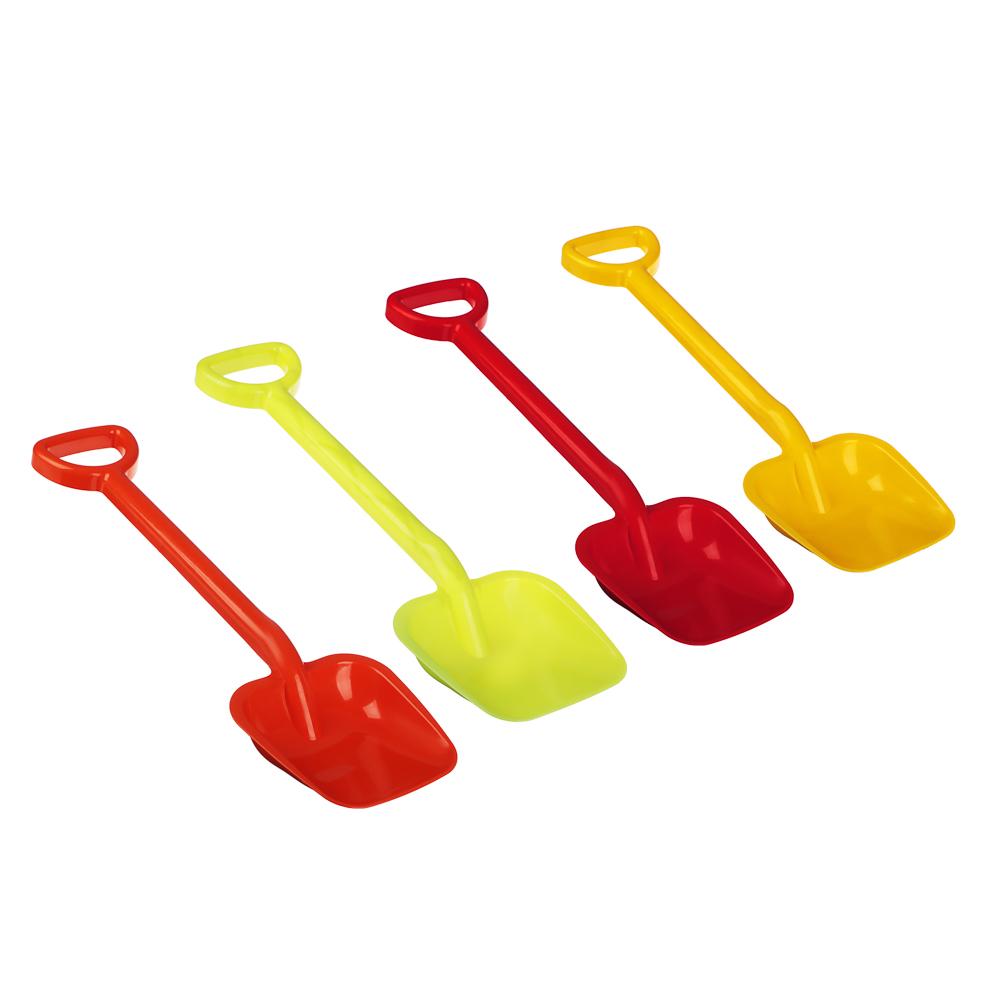 Лопатка детская, пластик, h49х15см, 5 цветов